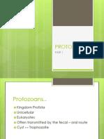 Protozoans Part 1amoebaflagellatescilitaes2013
