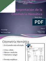 123 Interpretación de la Citometría Hemática  compl