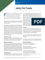 CVM Jerky Pet Treats FS 1013