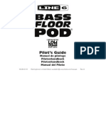 Bass Floor POD User Manual (Rev a) - English