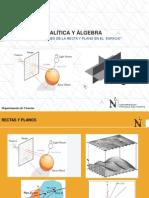 Sesión 8_Aplicaciones de la recta y del plano