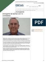 22-10-2013 'Refuerza Reynosa el programa emergente de bacheo con 12 contratistas'