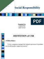CSR-ITC