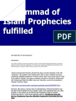 Muhammad of Islam Prophecies fulfilled.pdf