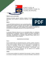 Objetivos de La Universidad
