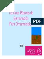 Tecnicas Basicas de Germinacion Para Plantas Feb10