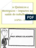 Riscos químicos e biolgógicos - Colacioppo