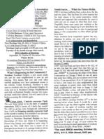 Roseland Heights Community Association Newsletter Oct. 2013