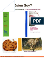 quien soy - project pdf