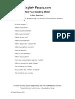 Asking Questions 1 Esl2
