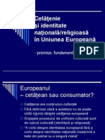 Cetatenie Si Identitate in UE