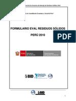28-Formuario Evaluacion Residuos Solidos