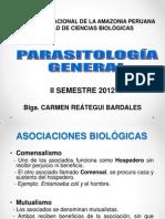 CLASE 1 Parasitologia. Conceptos - MH