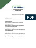 Universidad Tecmilenio Maestrias