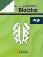 Revista colombiana de bioética 5.1