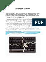 Securitatea Pe Internet
