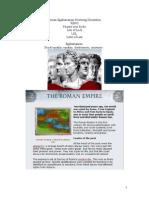 Roman Egalitarianism Neutering Orientation