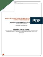 Modelo de Bases de Contratacion de Bienes