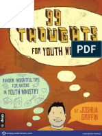 99 Thoughts for Youth Workers Preview
