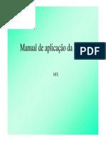 Manual de Aplicacao Da Nr 17 Apresentacao