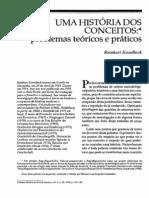 Koselleck Ums história dos conceitos problemas teóricos e práticos
