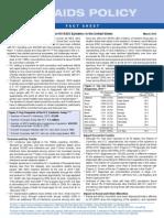 HIV/AIDS 2013 Fact Sheet
