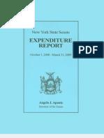 Oct 08 Mar 09 Expenditure