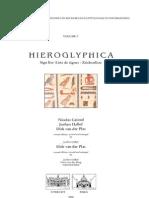 Hieroglyphica Sign List 2.Ed. Grimal Et Al. 2000