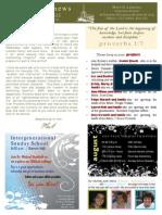 YA Newsletter July 30