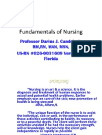 Fundamentals of Nursing - By Darius Candelario
