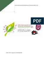 Programa del Taller de Fotosíntesis Artificial- Versión Final