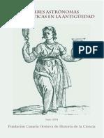 Varios - Mujeres Astronomas Y Matematicas
