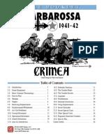 Barbarossa Crimea Rules