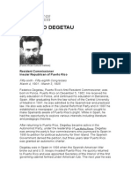 Federico Degetau- Biography