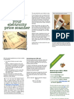 3 Electricity Price Scanner