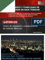 Sobre Rendimiento y eficiencia de motores eléctricos