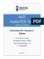 Aula 03 - Arquitetura PIC18 (18F4520 - Uma Vis¦o Geral) - Parte I