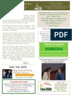 YA Newsletter July 9