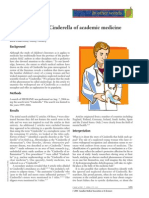 Cinderology- The Cinderella of Academic Medicine