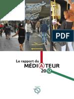 Ratp Rapport Mediateur 2011