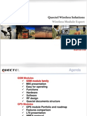 Training Quectel | Transmission Control Protocol | General