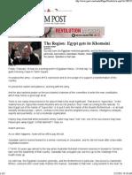 Egypt Gets Its Khomeini