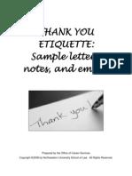 Thankyou Sample