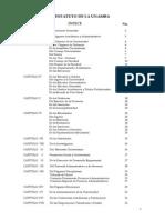 PLAN 13625 Estatuto de La UNAMBA 2013