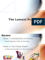 3 - The Lament Psalm