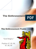 8 - The Enthronement Psalm