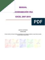 Manual Programación VBA (Excel 2007-2010) - VERSIÓN DEMO