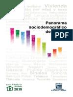 PANORAMA SOCIO DEMOGRÁFICO DE MÉXICO