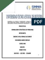 Proyecto Formulacion Estrategica de Problemas