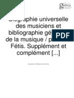 Fétis & Pouguin_Biographie universelle - Supplément et complément 1 (Bruxelles, 1878),.pdf